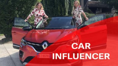 Photo of Car Influencer per un Giorno: Renault Captur, con Elena Giaveri e Annamaria Ferrari